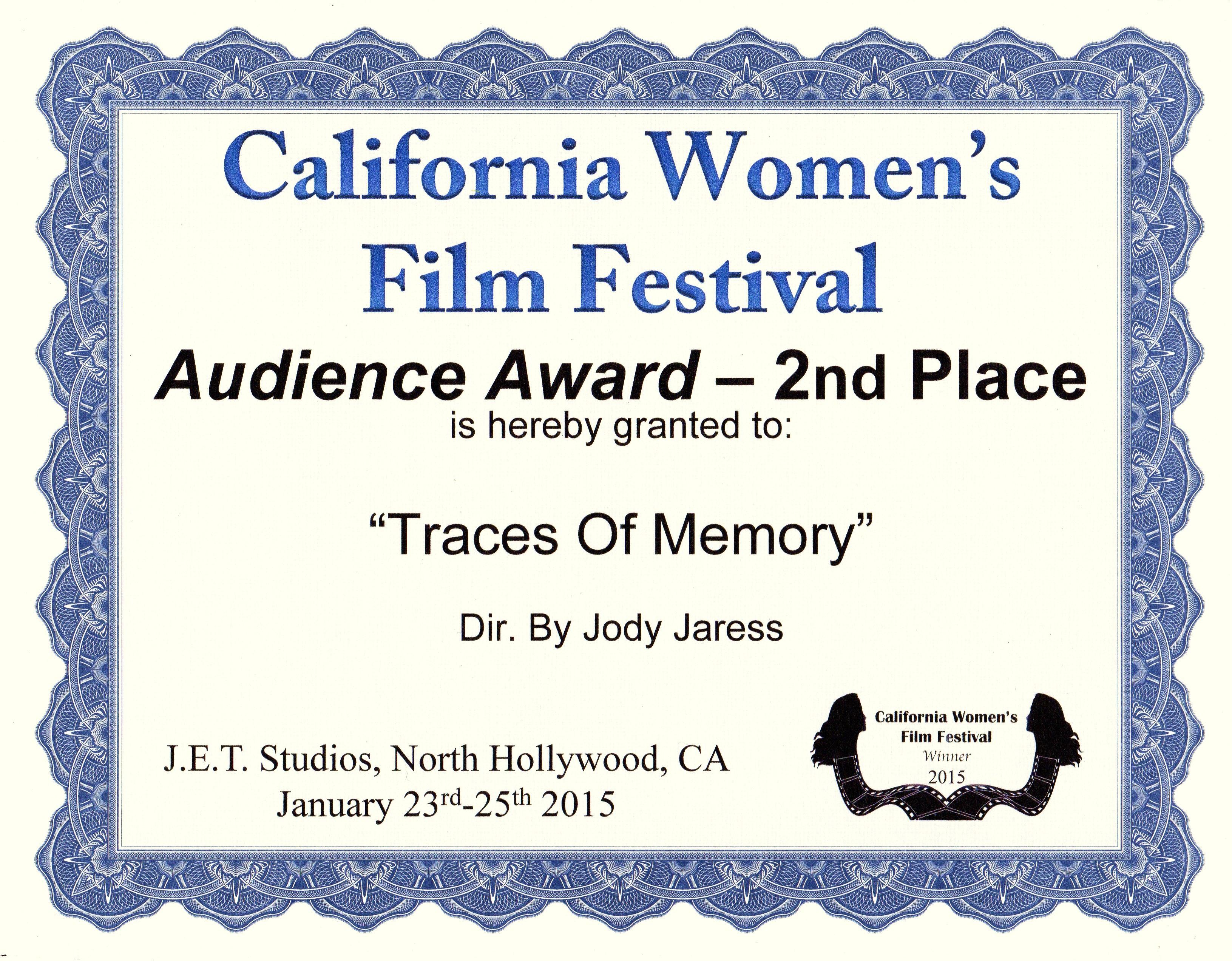 California Women's FilmFestival 2015