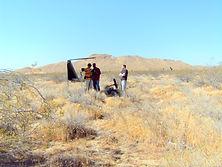 Traces - crew in desert
