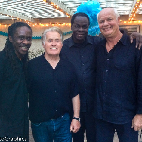 Martin Sheen party with Jimmy Dale Band