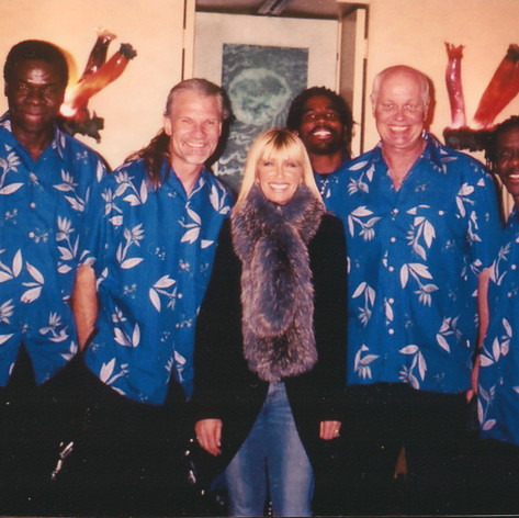 Suzanne Somers a Fan of Jimmy and his IRIE BAND
