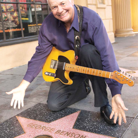 Walk of Fame-George Benson, Jimmy's idol