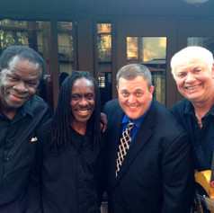 Billy Gardell and Jimmy musicians