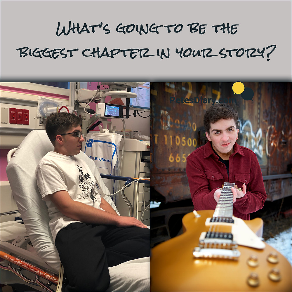 Hospital, Guitar, Inspiration, Teenager, Boy