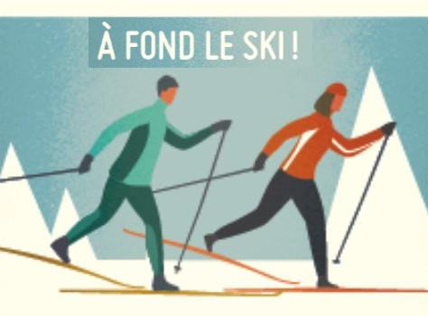 A fond le ski...toute une réussite de participation malgré le froid!