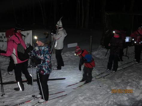 Tout un succès: la randonnée nocturne sous les étoiles!