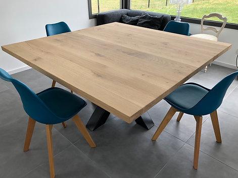 Nos tables Chêne Massif...