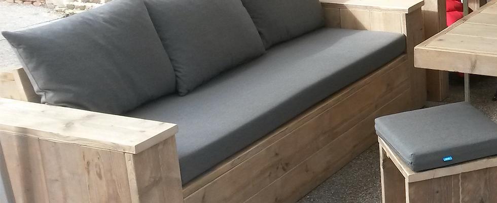 Canapé lounge droit