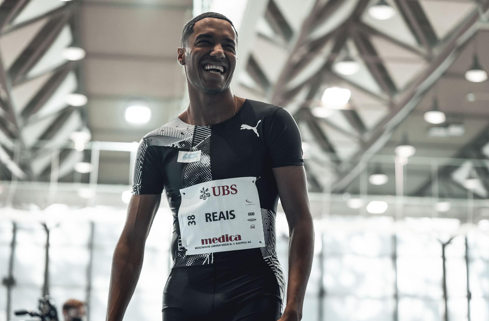 William Reais- Swiss 200m runner