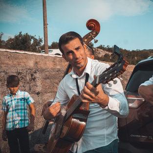 Musiker an Hochzeit
