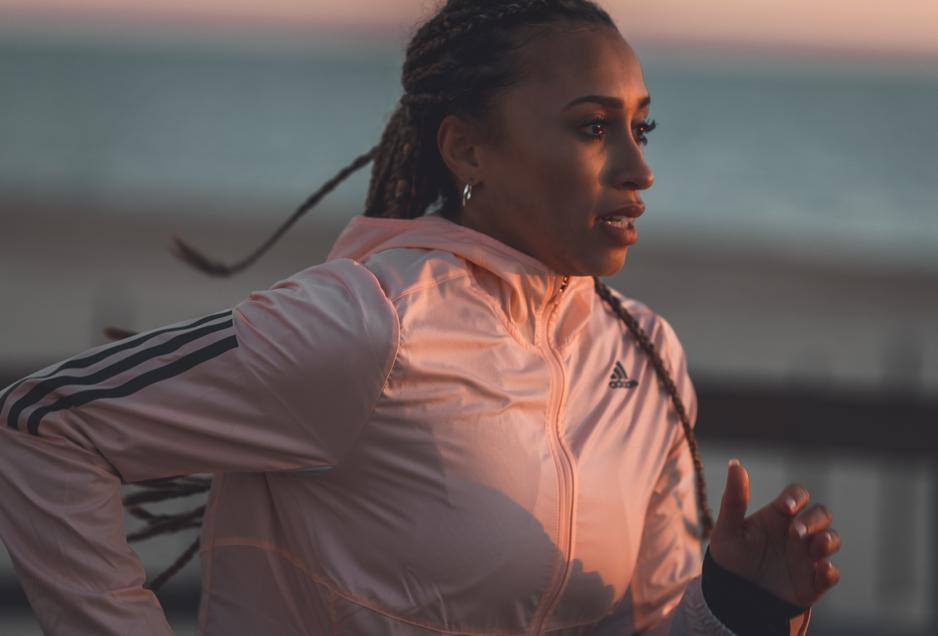 Nadia Power, 800m runner