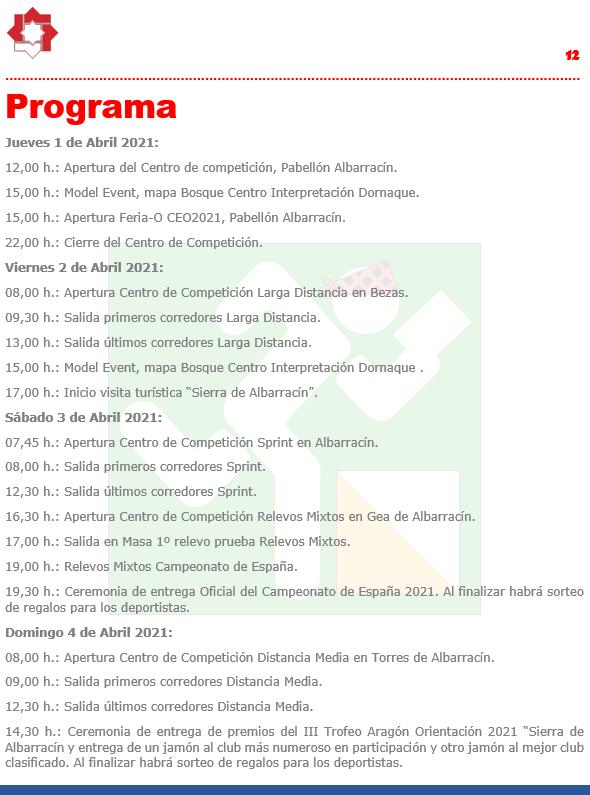 Programa CEO2021