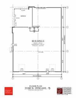 Building E - Floor Plan