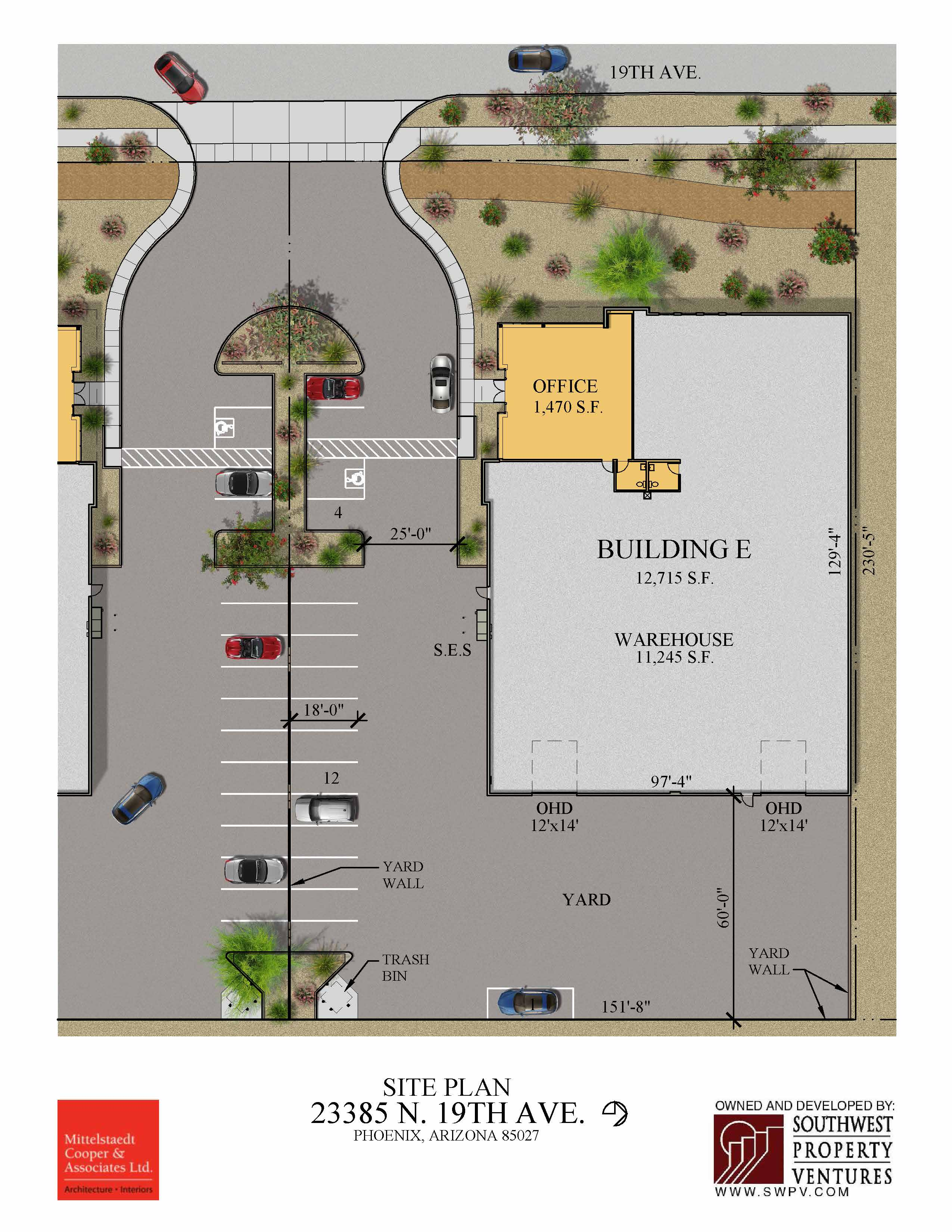 Building E - Site Plan