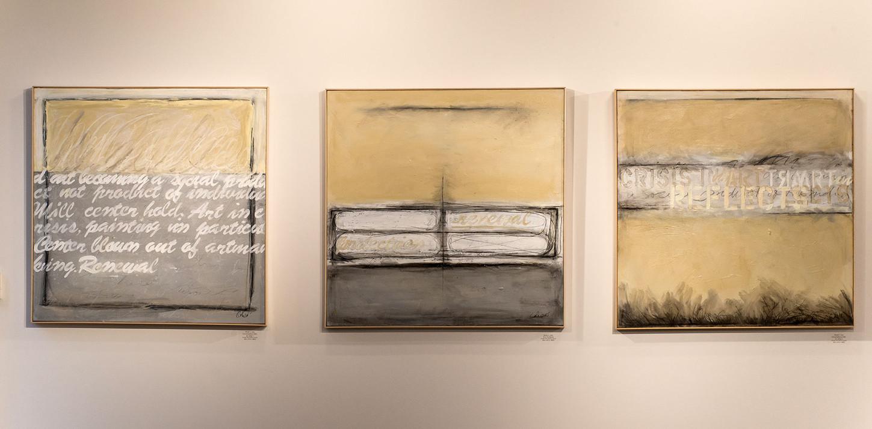 Slow Drip Paintings