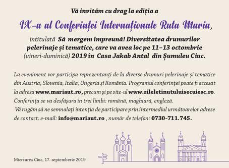 Conferință Internațională Ruta Maria