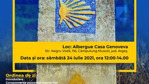 Adunarea generală APCS - 24 iulie 2021, albergue Casa Genoveva, Câmpulung Muscel.