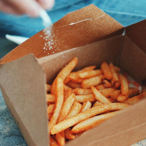 Fries large aioli/tomato sauce(GF)