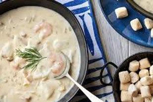 Seafood Chowder (GF)