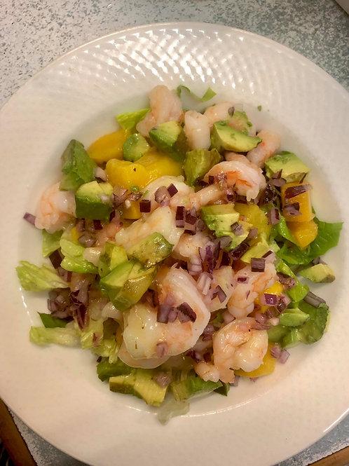 Prawn & Mango Salad (gf)