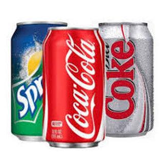 Drink Cans (coke, sprite, coke no sugar, sprite zero, L & P