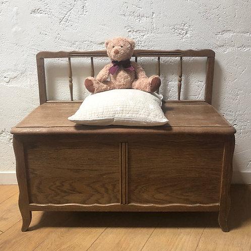 Coffre bac en bois vintage