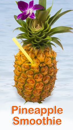 Fresh Pineapple Smoothie