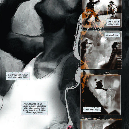 Black of Heart wins Best Graphic Novel! + Comic Book World!
