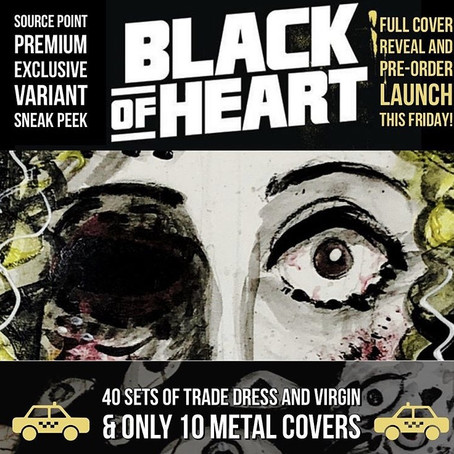 """""""Black of Heart"""" Variant Covers & Interview!"""