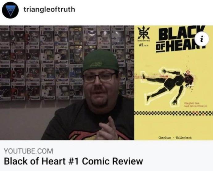 triangle of truth you tube charlton writes black of heart review