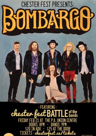 Bombargo Poster