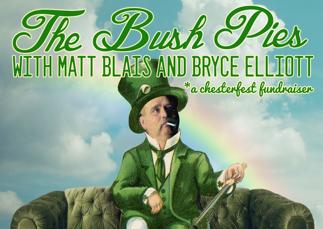 St. Patty's Day with the Bush Pies