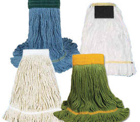 Mop Talk...appropriate mops for stripping and waxing floors.