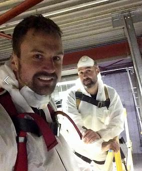 Matt and Ash of Sarzash Maintenance