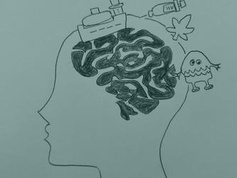 Die Geschichte vom Seeungeheuer und den Flotten – oder wie Drogen im Gehirn wirken.