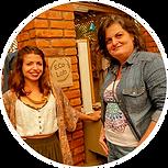 Andrea e Mariane - Oficina Eco Criativa.