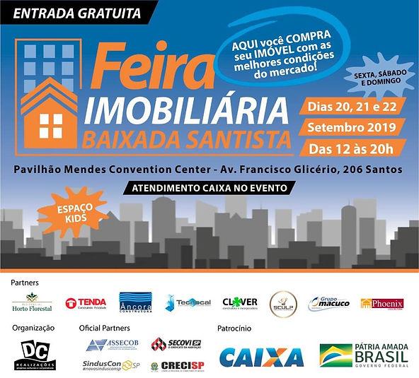 cartaz feira imobiliária