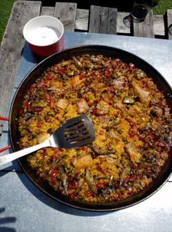 taller paella málaga