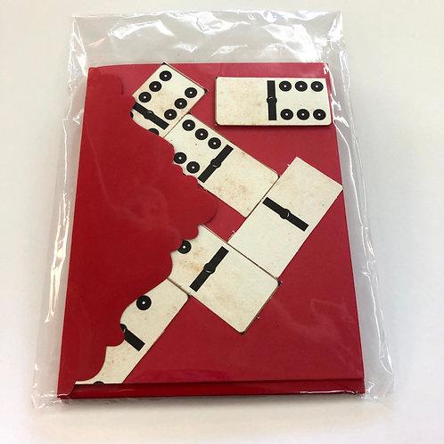 Dominoes 3-pack Handmade Cards #73