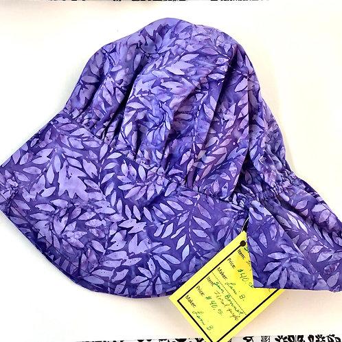 Purple Leaves Gardening Sun Bonnet