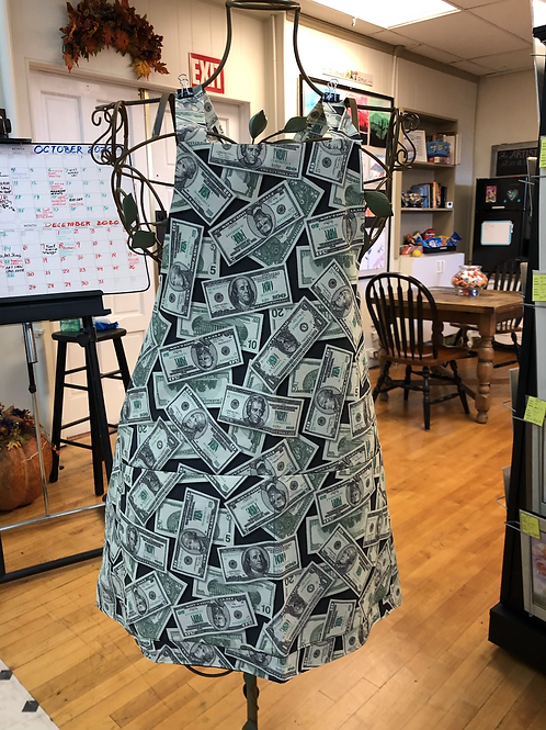 Money Bags and Apron