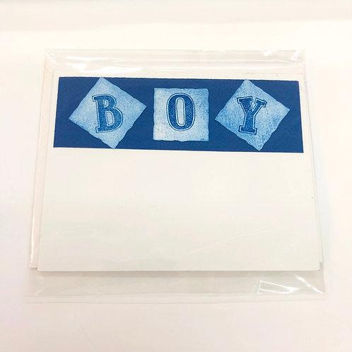 BOY Baby Gift Card Card #140