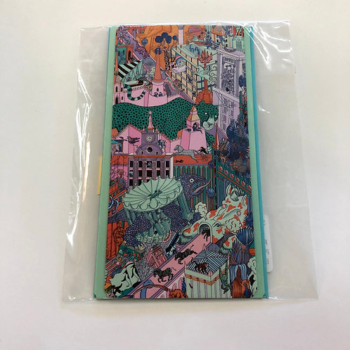 Hermes Recycled Paper Card  #66