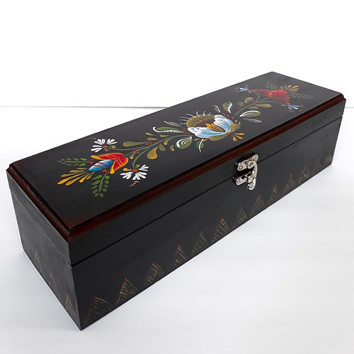 Black Box with Floral