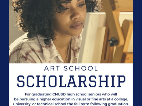 Virtual Art Challenge, Scholarship Available, Window Art and More!