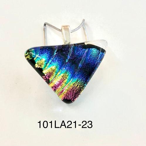 Dichroic Fused Glass Pendant #23