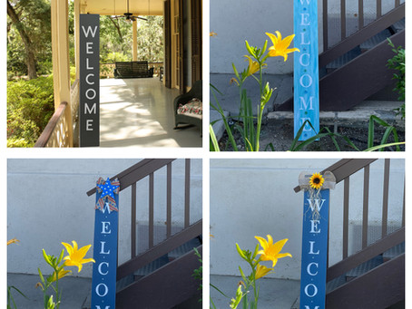 """Porch Leaners, """"Nature"""" Art Show, and Opportunities for Adventure!"""