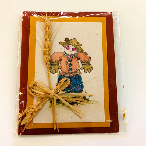 Scarecrow Handmade Card