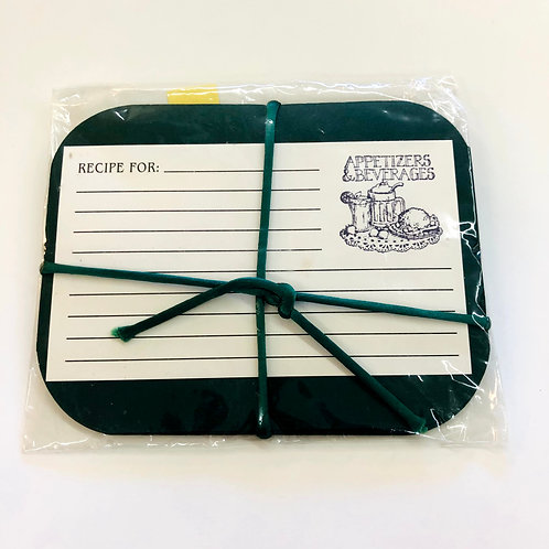Recipe Cards - Handmade - 6 pack
