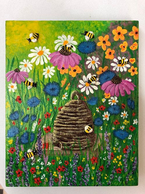Bee Hive original artwork