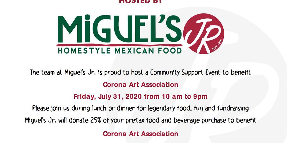 Eat Out Fundraiser @ Miguel's Jr. (Original)